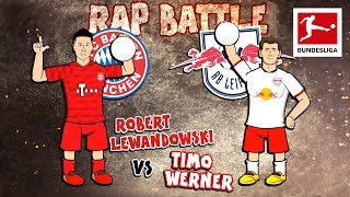 Lewandowski vs. Werner Topscorer Rap Battle - FC Bayern München vs. RB Leipzig - Powered by 442oons