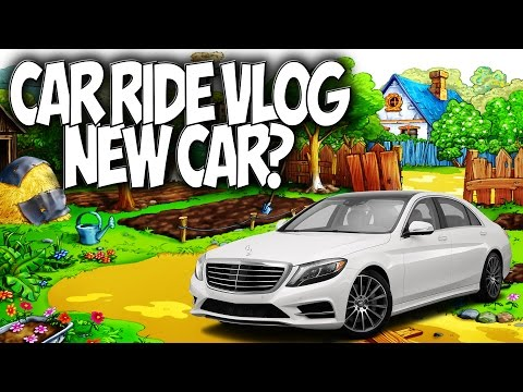 CAR RIDE VLOG: NEW CAR? TRIP TO WHOLEFOODS!!