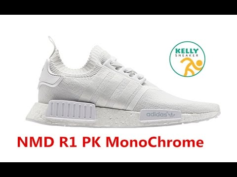 Cheap Adidas NMD Runner PK White Red Blue Sneaker Hot Sale at