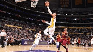 D'Angelo Russell CAREER HIGH 40 Kyrie Counters with 46! | March 19, 2017
