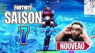 FORTNITE SAISON 7 - NOUVEAU PASSE DE COMBAT, BIOME NEIGE ET CAMOUFLAGES (Saison 7 Battle Royale)