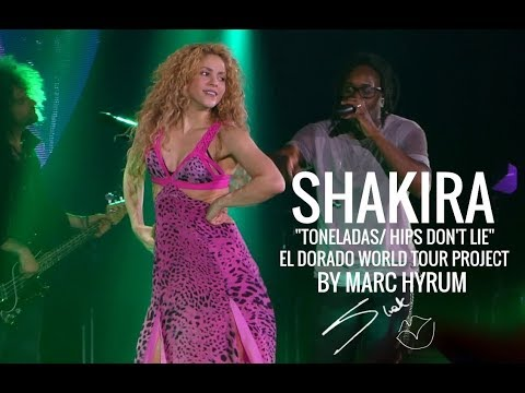 "Shakira ""ToneladasHips Don&39;t Lie"" El Dorado World Tour Project"