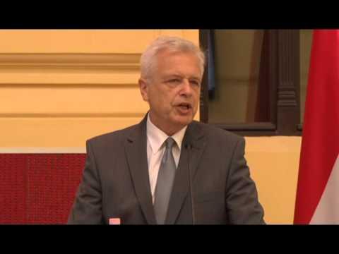 Kocziszky György beszéde / Gazdasági konferencia 2/1 - 2014.07.17.