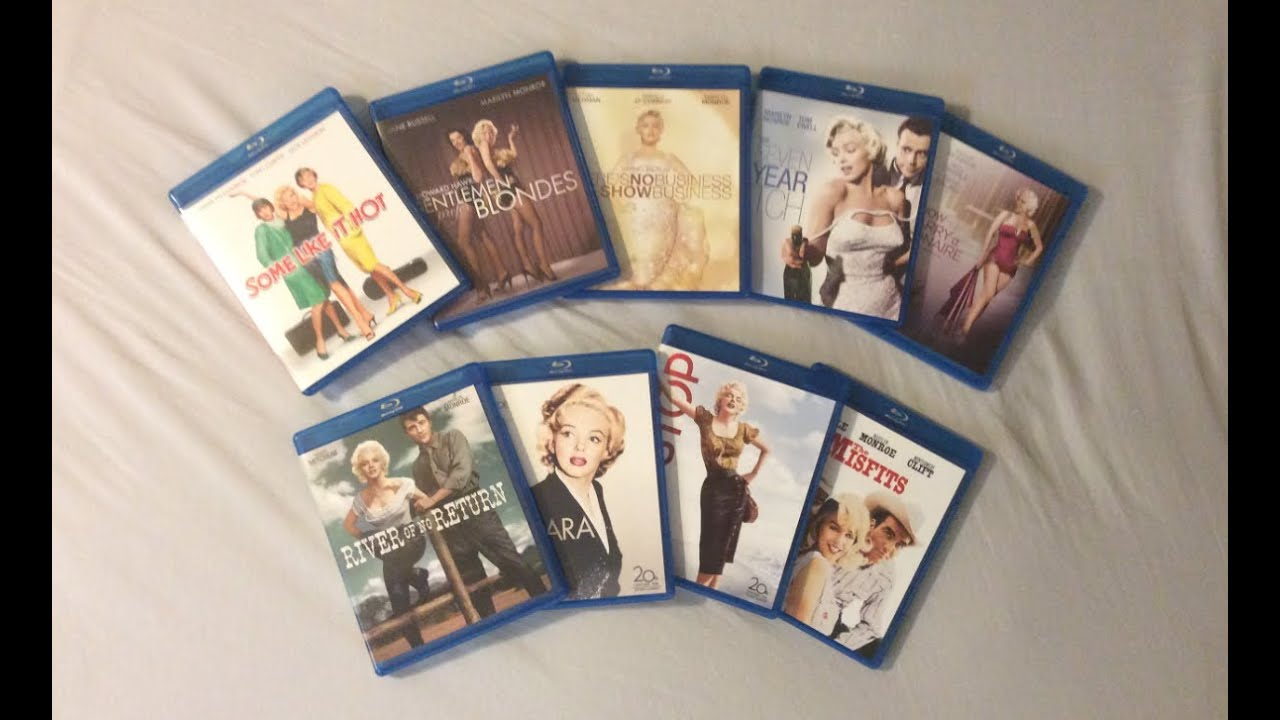 Marilyn Monroe Movie Collection: 9 Films (1953-1961) - Blu ...