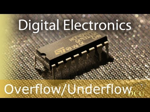 Digital Electronics: Overflow, Overflow Detection and Underflow