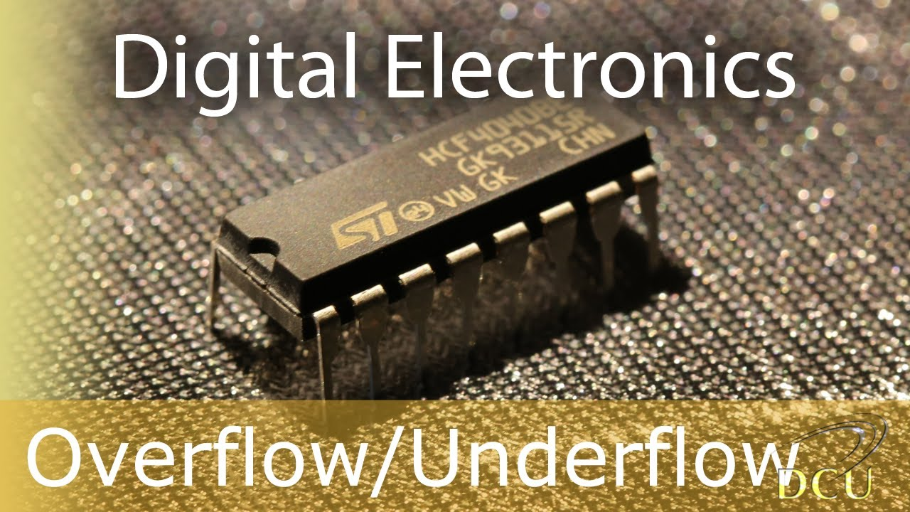 Digital Electronics Overflow Detection And Underflow Circuit Using An Msi Adder With Terminationsubcircuits Logical