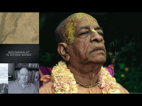 Satsvarupa das Goswami - Beginning at Second Avenue - With Prabhupada Early Days