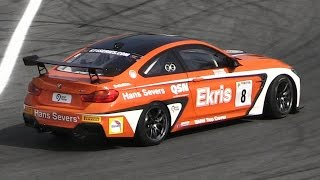 Ekris Motorsport' BMW M4 GT4 - 430bhp Twin Turbo Inline-6 Engine Sound