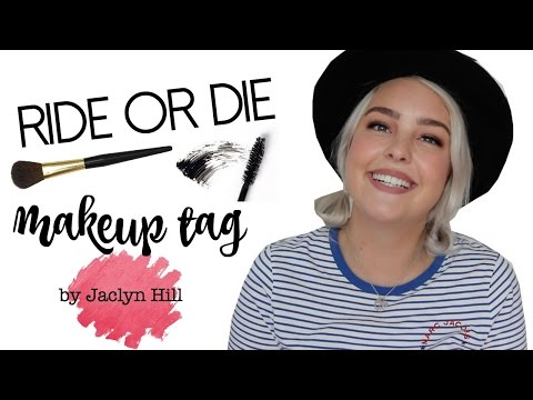 RIDE OR DIE PRODUCTS | Jaclyn Hill Tag ♡