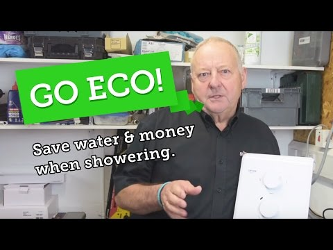 Save water, energy & money: Eco showering tips + shower head test.