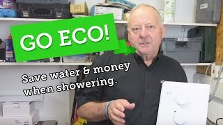 Save water, energy and money: Eco showering tips + shower head test.