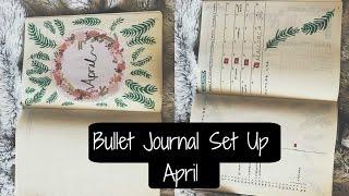 bullet journal set up april