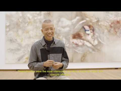 Cai Guo Qiang   - Making of a Gunpowder Drawing