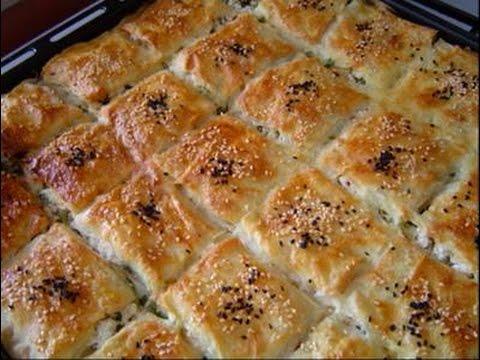 Patatesli Börek ve Pratik Pasta Tarifi - YouTube