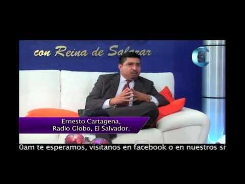 Programa Minutos de Oro con Reina de Salazar, invitado Ernesto Cartagena