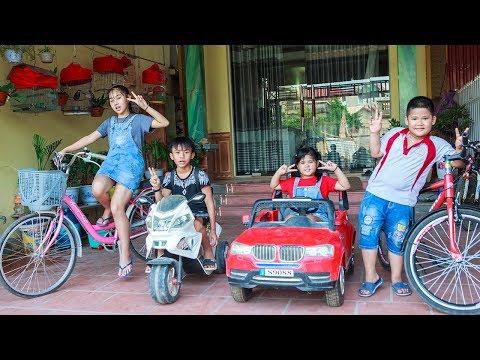 Kids Go To School   Chuns and Best Friends Learn How Bike Repair Smart Children