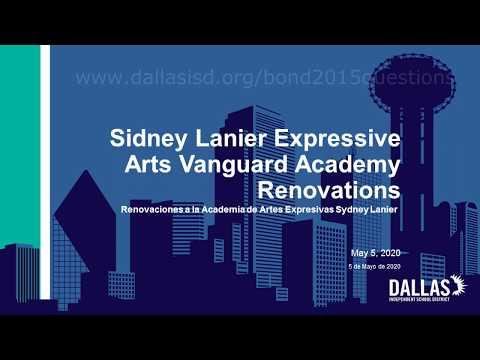 5/5/20-Bond 2015:  Sidney Lanier Expressive Arts Vanguard Academy Renovations
