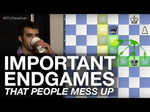 Important Endgames that People Mess Up | Endgame Exclam!! - IM Eric Rosen