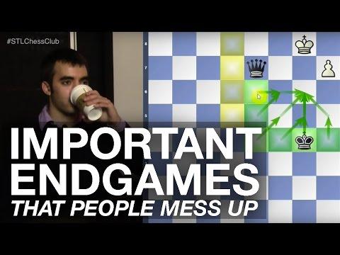 Important Endgames that People Mess Up | Endgame Exclam!! - IM Eric Rosen