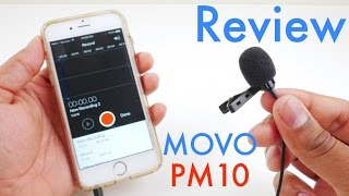 Movo PM10 Deluxe Lavalier Microphone Review- for Smartphones and Tablets
