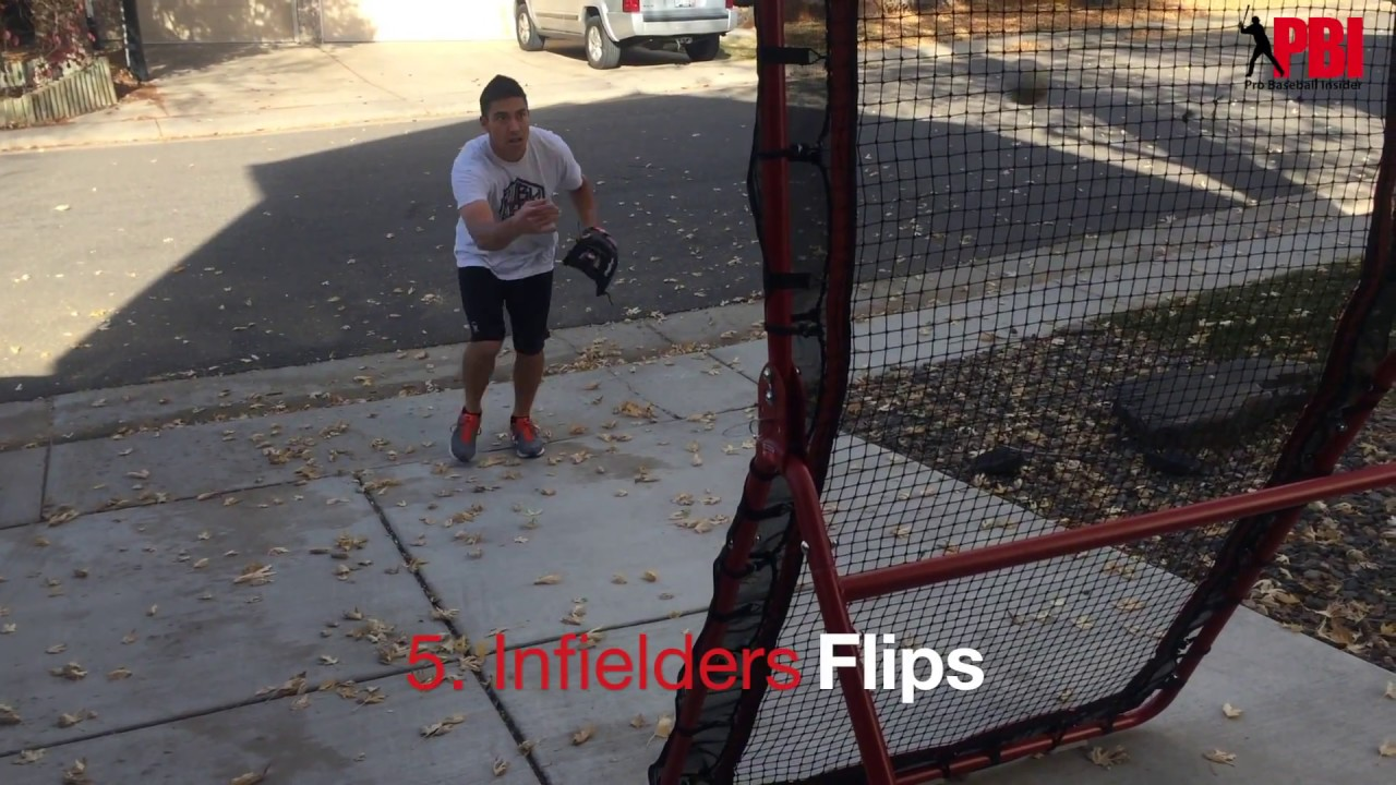 6 baseball fielding drills you can do in your driveway or back