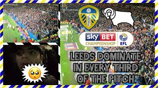 LEEDS UNITED vs DERBY COUNTY *AWAY DAY VLOG* - Well and truly BATTERED... *RE-UPLOAD*