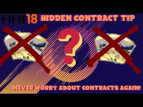 FIFA18 Massive Contract Tip!