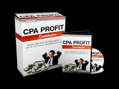 CPA Profit Dominator Reviews and Bonus by Tyler Pratt