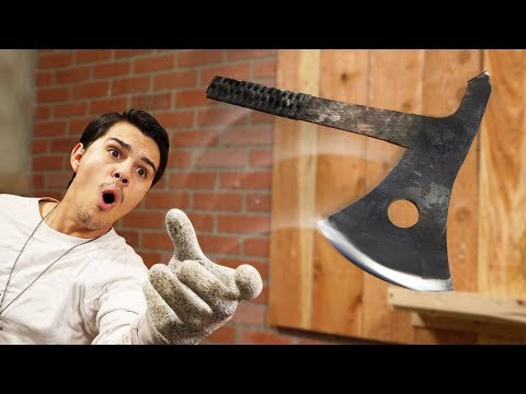 Can We Destroy Things With Throwing Axes?