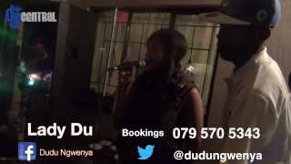Lady Du (DJ) Singing at a 21st Birthday