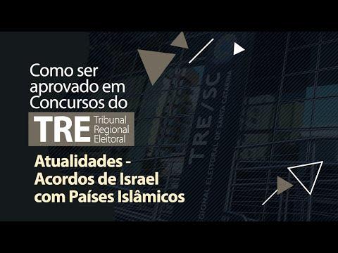 Atualidades - Acordos De Israel Com Países Islâmicos