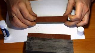 Замена наждачки точилки для ножей
