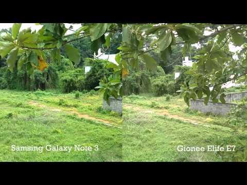 Gionee Elife E7 vs Samsung Galaxy Note 3- Camera Comparison
