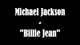 Michael Jackson - Billie Jean (Instrumental/karaoke) + Lyrics