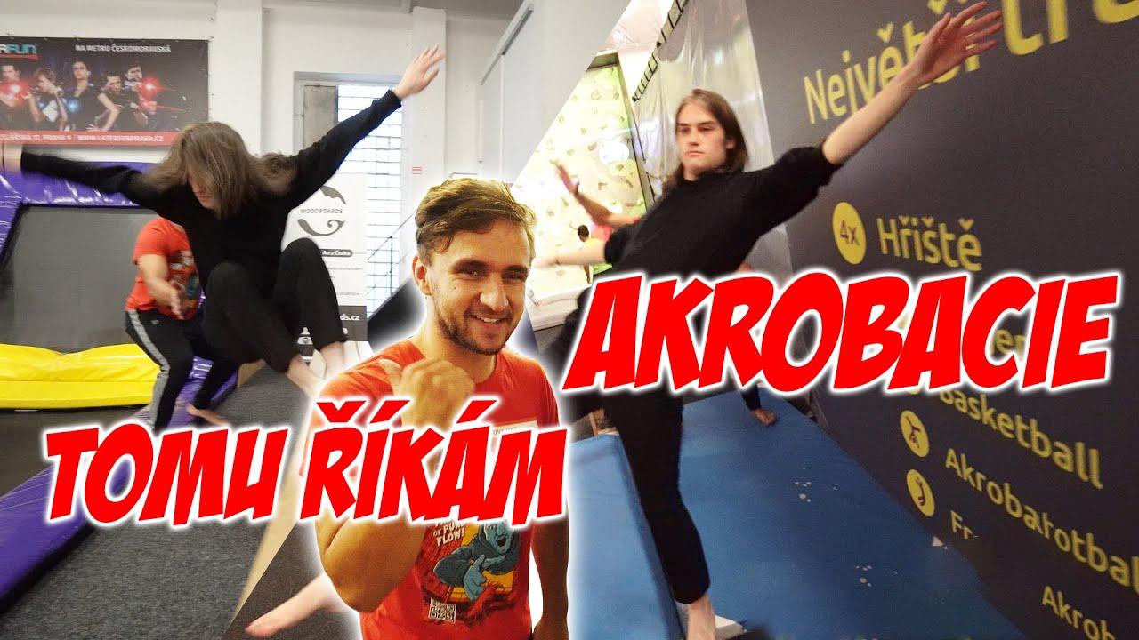 Učím youtubery parkour #47 | Prokop
