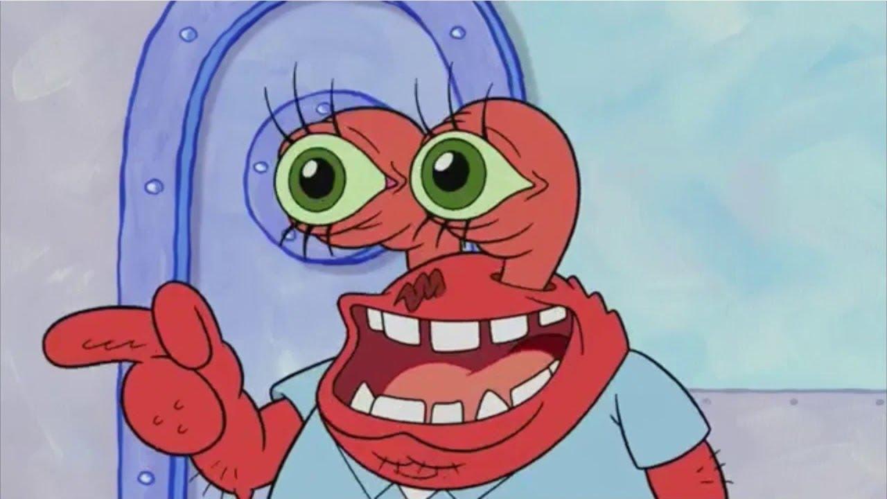Image result for mr krabs face