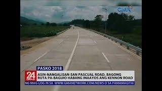 Asin-Nangalisan-San Pascual road, bagong ruta pa-Baguio habang inaayos ang Kennon road