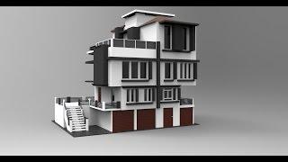 Modeling modern house 3ds max tutorial part - 1(Keyshot render Facebook: www.facebook.com/thePhotoBots Twitter: https://twitter.com/Roomiur Subscribe now friends...........!!!, 2015-10-26T11:35:23.000Z)