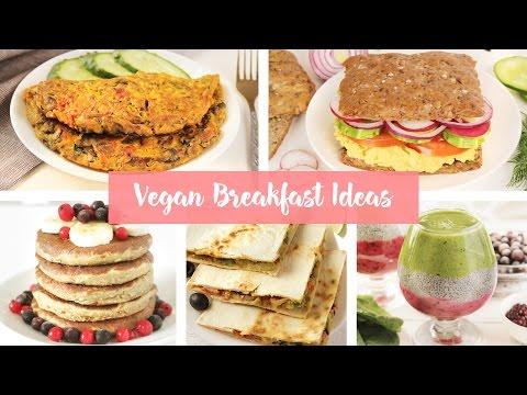 Vegan Breakfast Ideas 🥑 Vegan Omelette, Sandwich, Pancakes