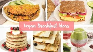 Vegan Breakfast Ideas 🥑 Vegan Omelette, Sandwich, Pancakes
