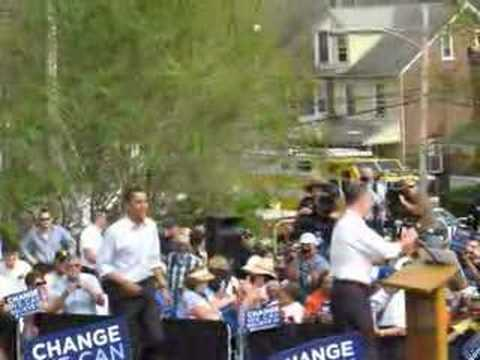 Downingtown for Obama! On Track for Change