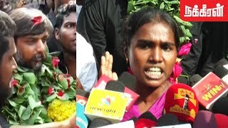 Activist Valarmathi wishes Thirumurugan Gandhi | Goondas act effect in TN