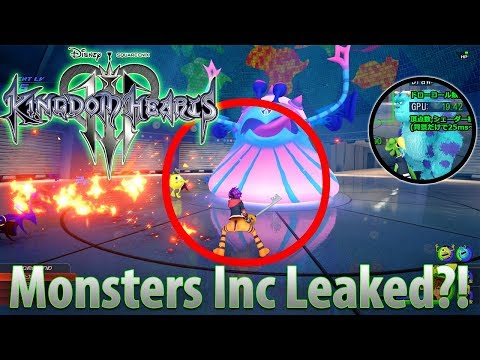 KINGDOM HEARTS 3 - MONSTERS INC WORLD LEAKED?! THIS LOOKS REAL!