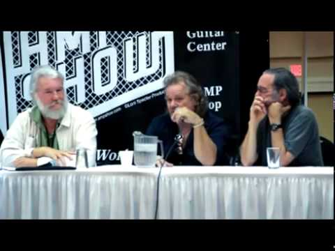 LA Amp Show 2012 Tone Wizards Panel