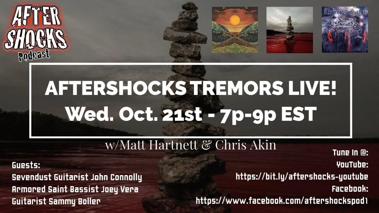 Aftershocks Tremors Live  8