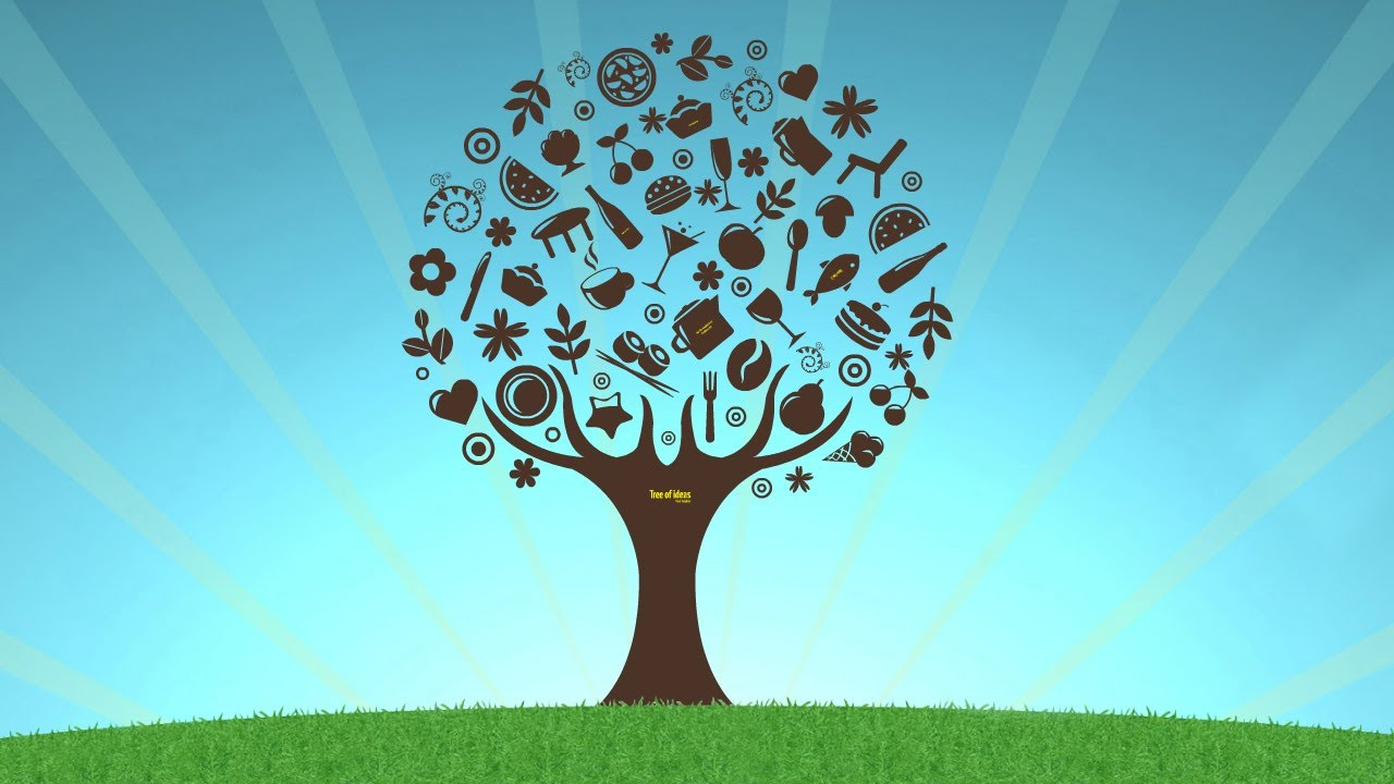 tree of ideas - prezi template - youtube, Powerpoint templates
