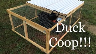 Gambar cover Building a DUCK COOP for $80