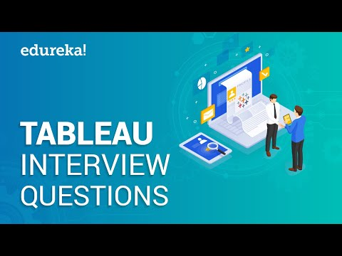 Tableau Interview Questions & Answers | Tableau Career Path