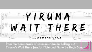 Yiruma Wait There for Flute and Piano (with score) 최나경