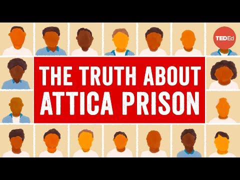 Video image: What really happened during the Attica Prison Rebellion - Orisanmi Burton